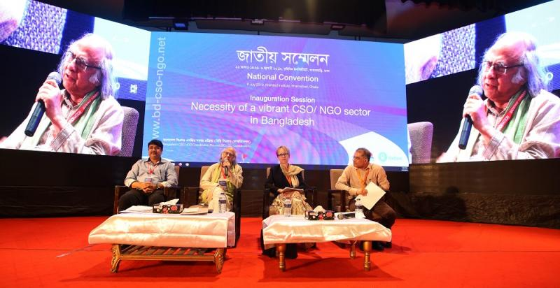 Local CSO-NGO expressed concern on new draft social welfare law at National Convention